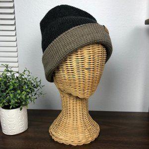 ROVE X SVAM Black and Tan knit thermal beanie OS
